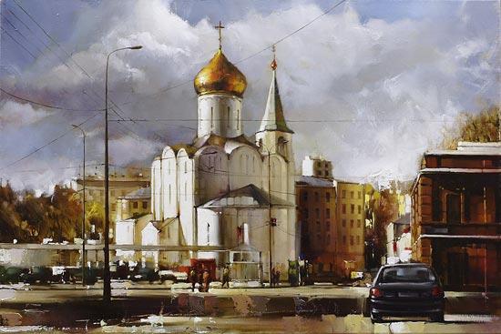 Гаппасов Рамиль. Вид на Бутырский Вал