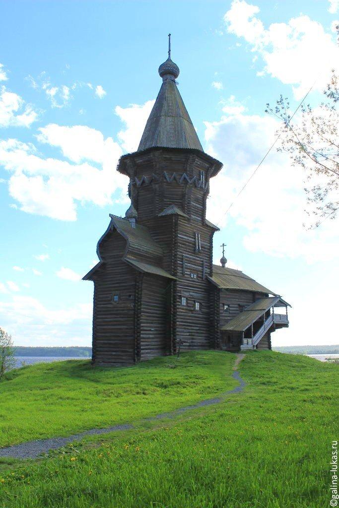 главная церковь Кондопоги.