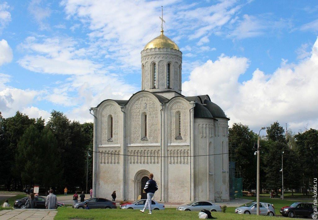 Маршрут по Владимиру и окрестностям